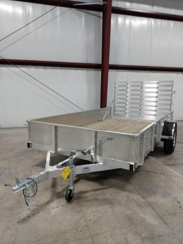 2022 Trophy Aluminum High Side Utility Trailer