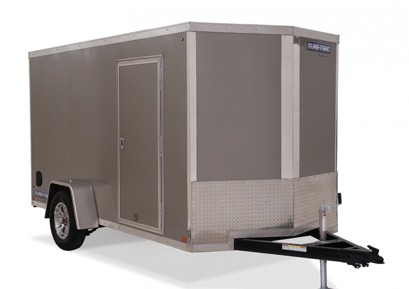 "2020 Sure-Trac 6 x 10 x 72""  Wedge Enclosed Cargo Trailer"