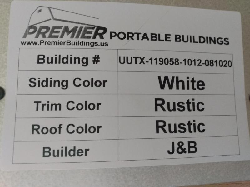 2020 Premier UTX Utility 10'x12'