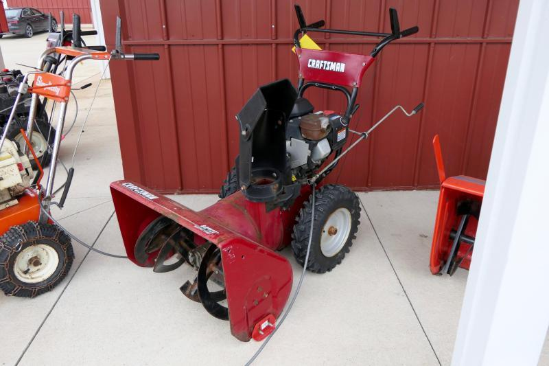 2018 Craftsmen 2-Stage Snow Blower