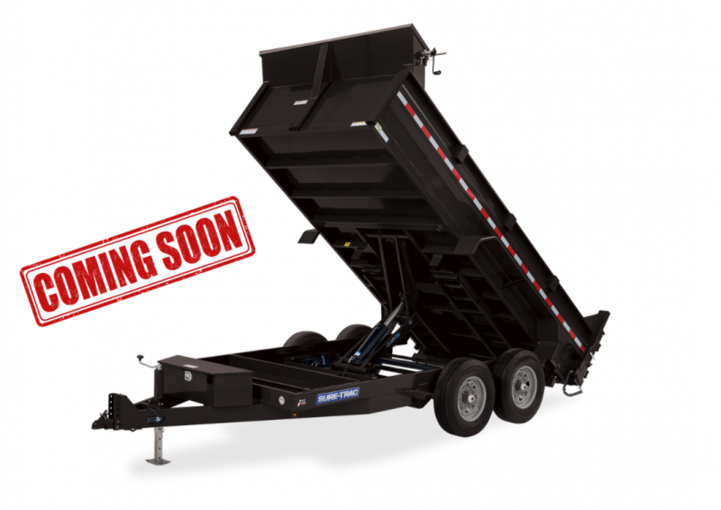 COMING SOON 2021 Sure-Trac HD Low Profile Scissor Dump Trailer