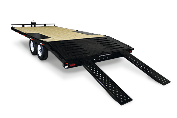2020 Sure-Trac 8.5 x 20 + 5 Bumper Pull Deck Over