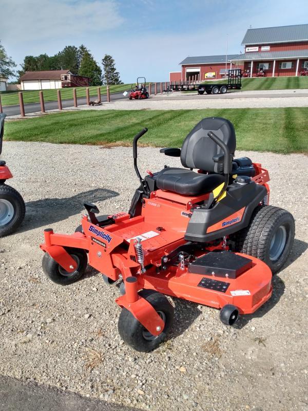 2021 Simplicity ZT Courier XT Lawn Mower