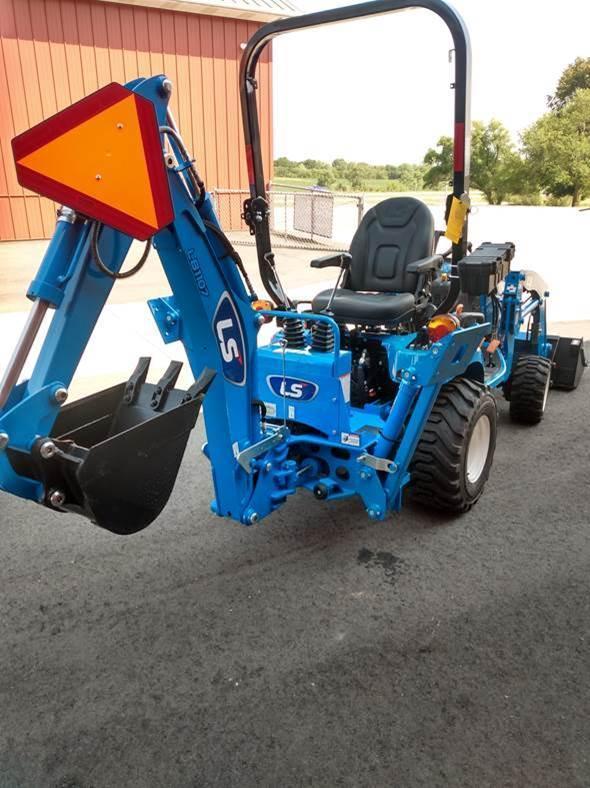 2021 LS Tractor MT125 Sub-comp  w/ Loader & Backhoe