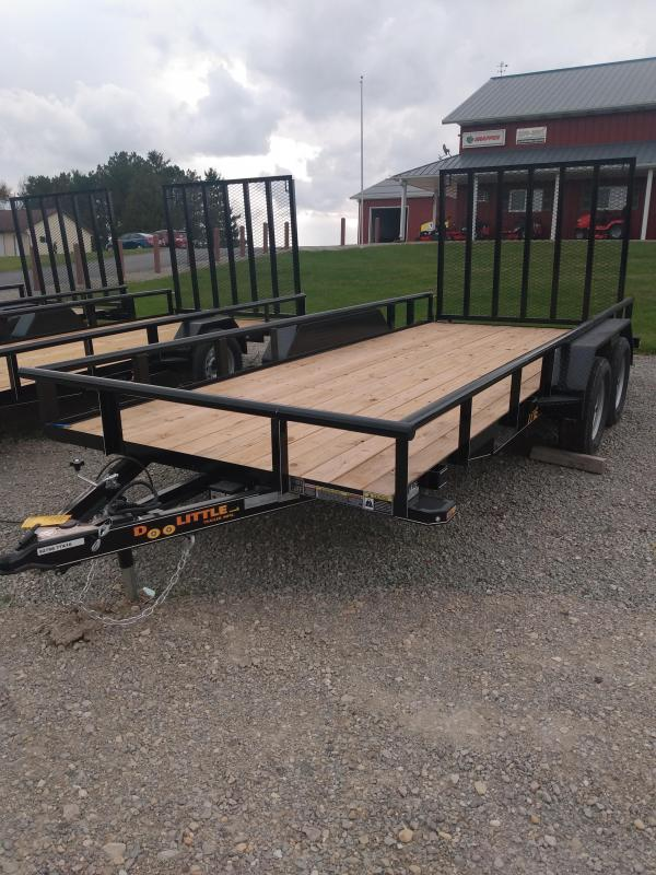 2021 Doolittle Trailer Mfg Doolittle - Utility 77x16 Utility Trailer