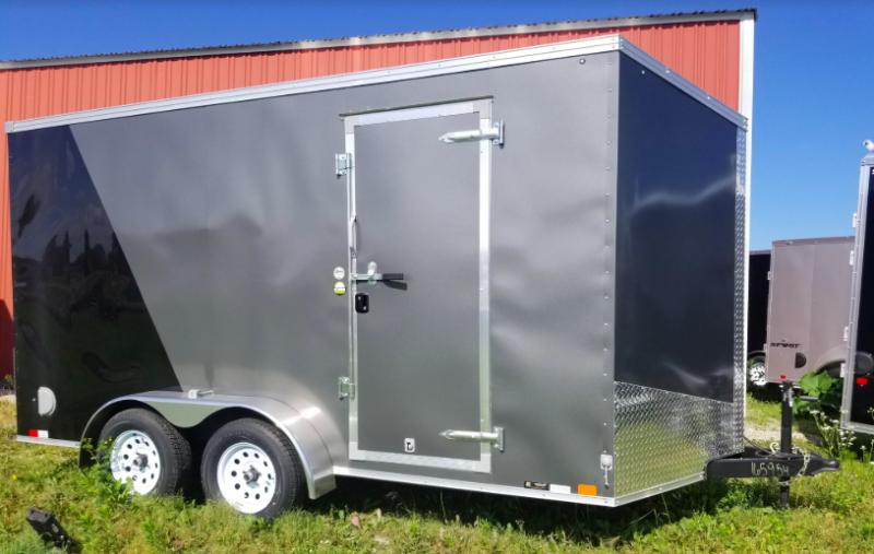 "2019 United Trailers XLV Wedge 7' x 14' x 84"" Enclosed Cargo Trailer"