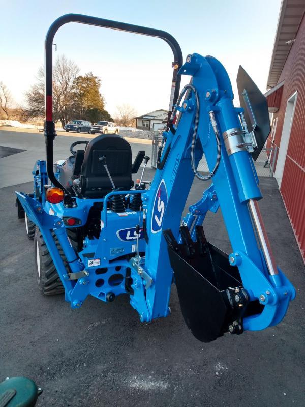 2020 LS Tractors MT125H Sub-compact w/ Ldr HST and Backhoe