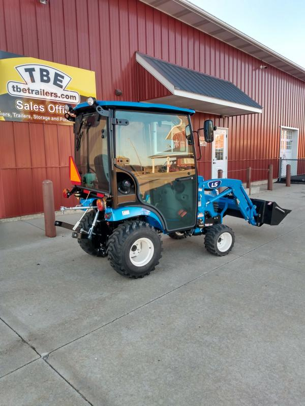 2021 LS Tractor MT125H Tractor with Cab