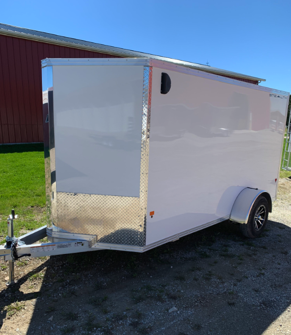 "2019 CargoPro Stealth 6' x 12' x 72"" Wedge Enclosed Cargo Trailer"