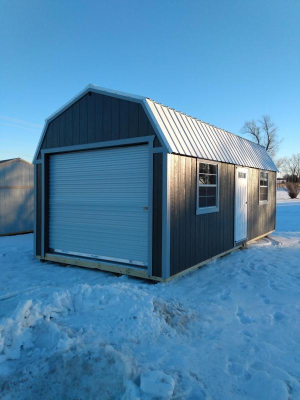 2021 12x24 Lofted Garage