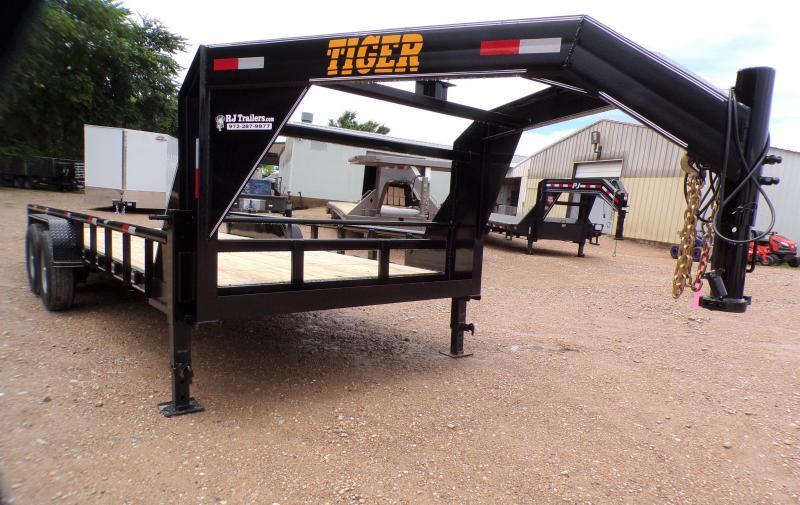 2021 Tiger 83 x 20 Gooseneck Equipment Trailer