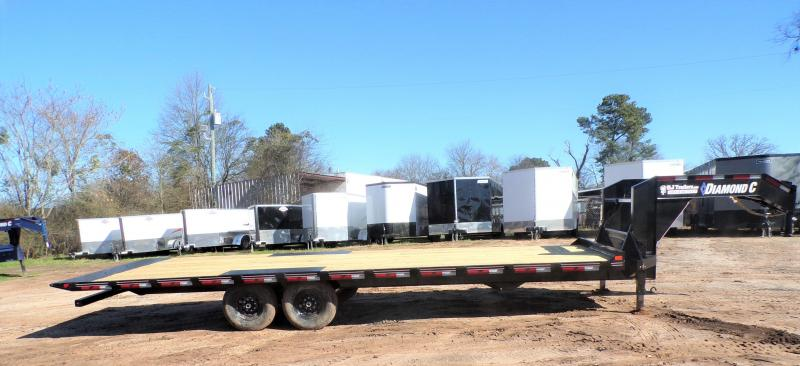 2021 Diamond C Trailers 102 x 26 DET 207 Tilt Flatbed Trailer