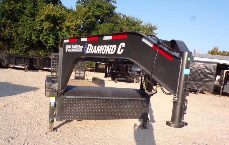 2021 Diamond C Trailers 82 x 14 LPX 207 Equipment Trailer