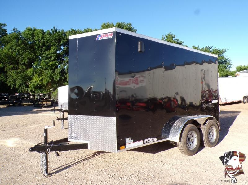 2022 Pace American 6 x 12 Journey TA Cargo Trailer