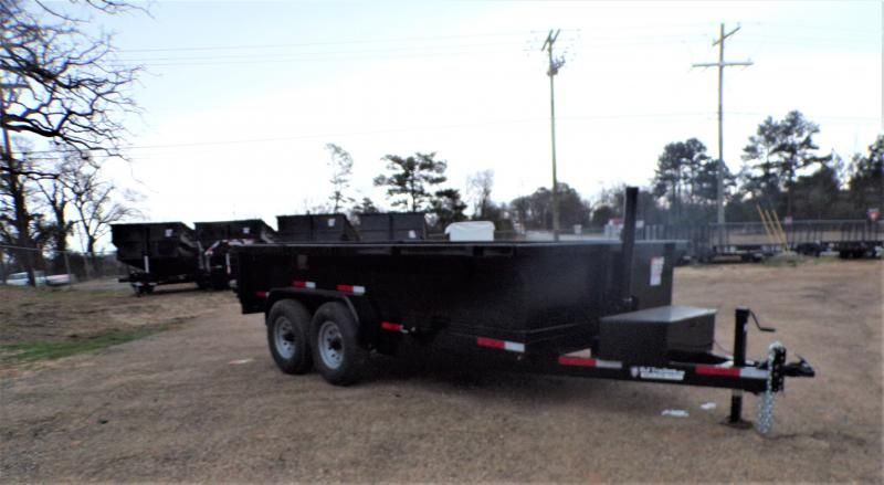 2021 Texas Pride Trailers 82 x 14 Telescopic Bumper Pull  Dump Trailer
