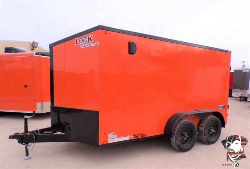 2022 Look Trailers 7 X 12 Element SE Slanted V-Nose Enclosed Cargo Trailer