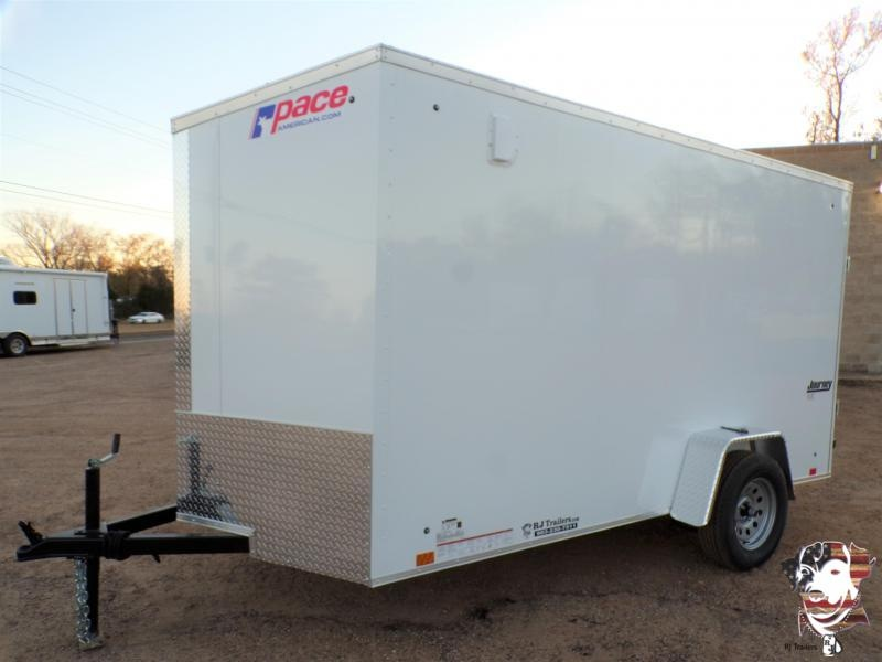 2021 Pace American 6 x 12 Journey Cargo Trailer