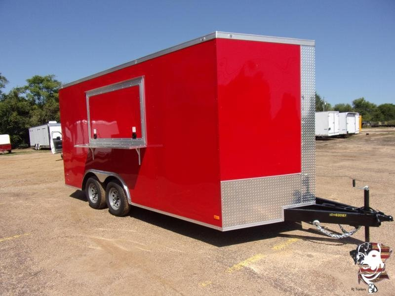 2020 Covered Wagon Trailers 8 5 x 16 Gold Series Concession Vending Concession Trailer