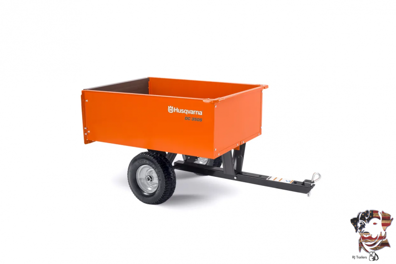 2021 Husqvarna 9 Cubic Foot Dump Cart