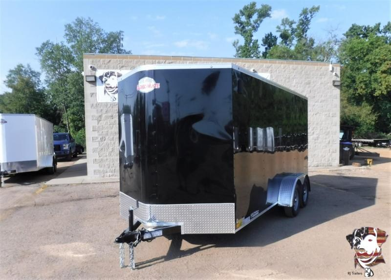 2021 Cargo Mate LEE 7 x 16  Enclosed Cargo Trailer