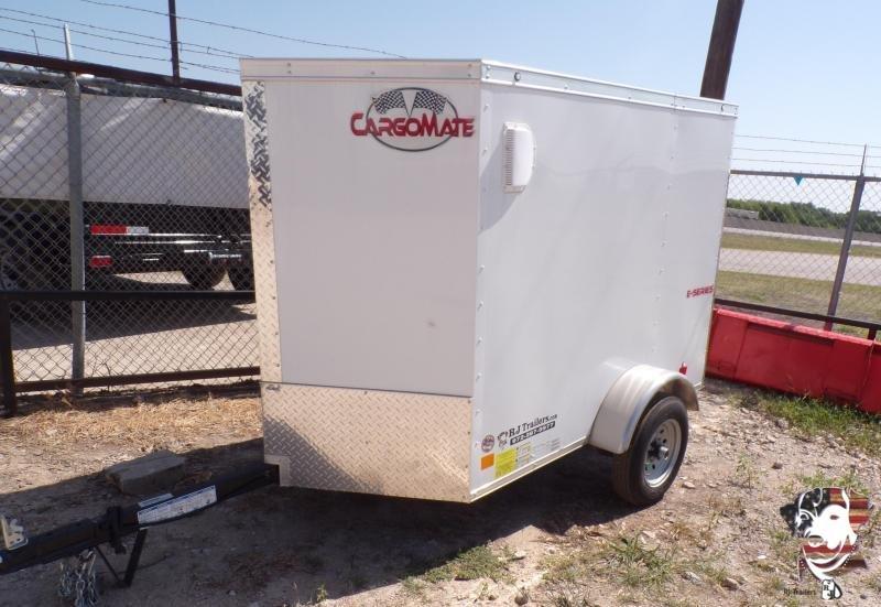 2020 Cargo Mate 4 x 6 E-series Enclosed Cargo Trailer