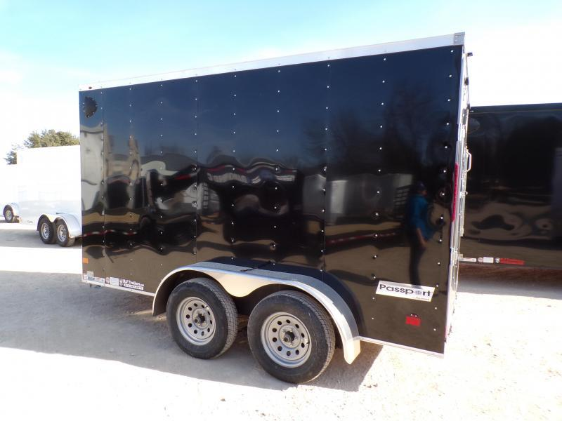 2021 Haulmark 6 x 12 Passport Deluxe TA Enclosed Cargo Trailer