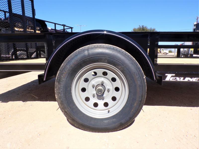 2021 TexLine SA 77 x 12 Utility Trailer