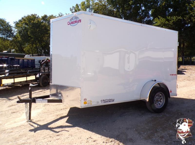 2022 Cargo Mate 6 x 10 E-Series Enclosed Cargo Trailer