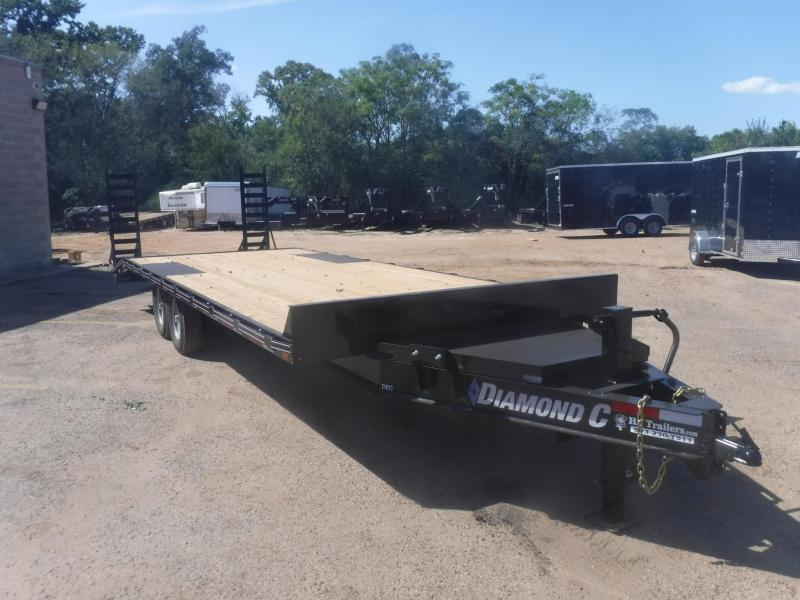 2020 Diamond C Trailers 102 x 24 DEC207 Equipment Trailer