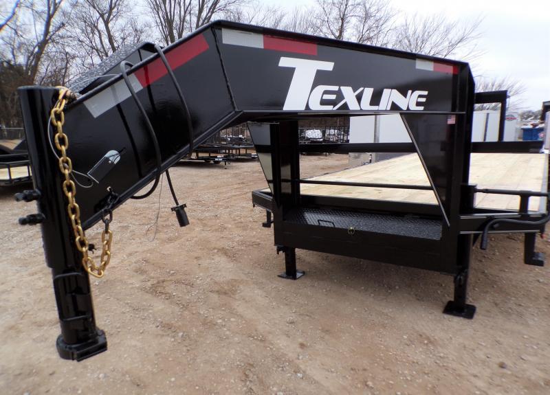 2021 TexLine 102 x 25 Equipment Trailer