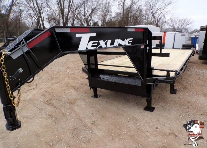 2021 TexLine 102 x 25 Equipment Trailer