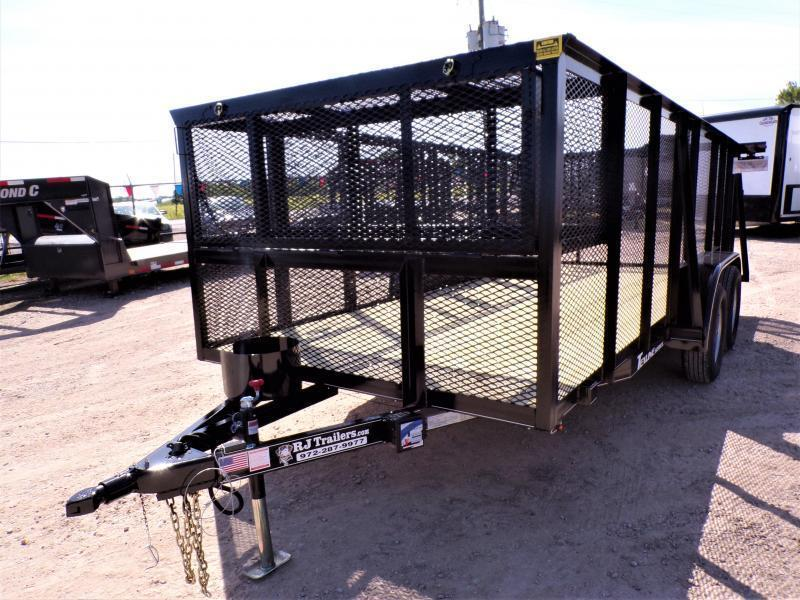 2020 TexLine 77 x 14 Landscape Utility Trailer