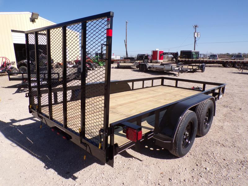 2021 Buck Dandy 77 x 14 Big Buck TA Utility Trailer
