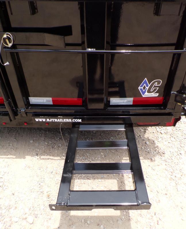 2021 Diamond C Trailers 77 x 12 MDT-206 Dump Trailer