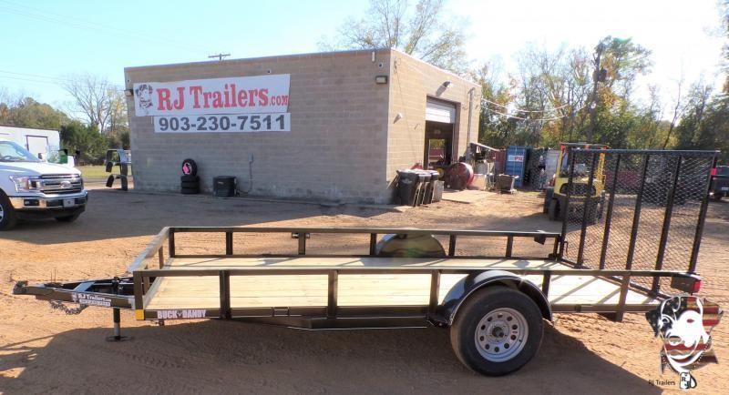 2021 Buck Dandy 77 x 14 Little Buck Utility Trailer