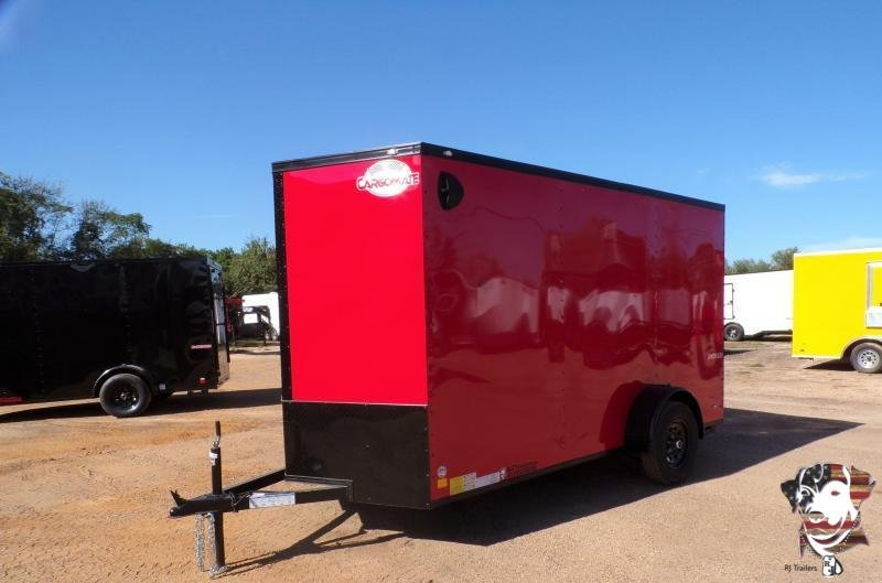2021 Cargo Mate 6 x 12 E Series SA Enclosed Cargo Trailer