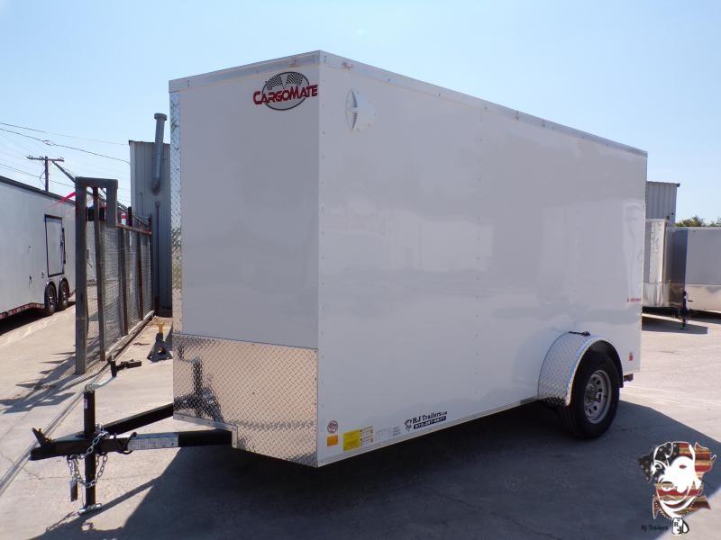 2021 Continential Cargo 6 x 12 E-Series SA Enclosed Cargo Trailer