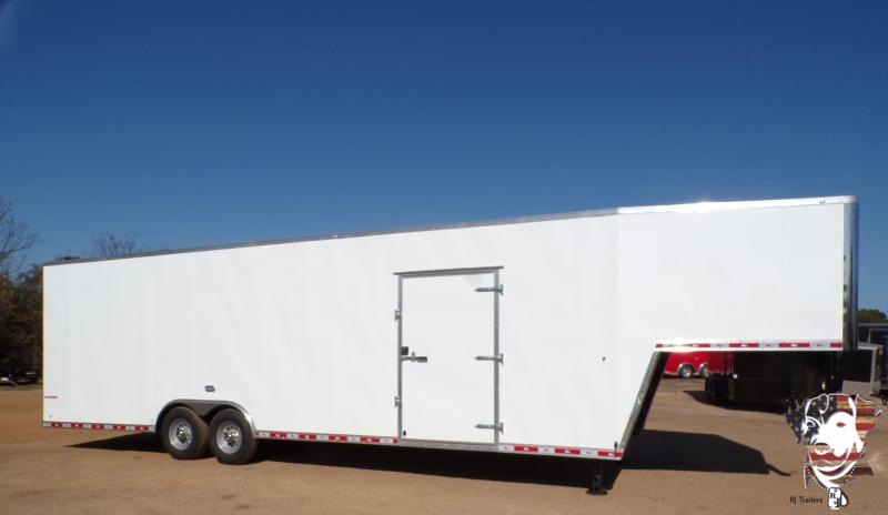 2021 Cargo Mate 8.5 x 36 E-Series Gooseneck Enclosed Cargo Trailer