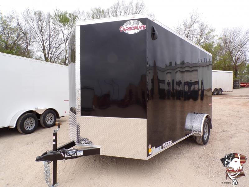 2021 Cargo Mate 7 x 12 E-Series SA Enclosed Cargo Trailer