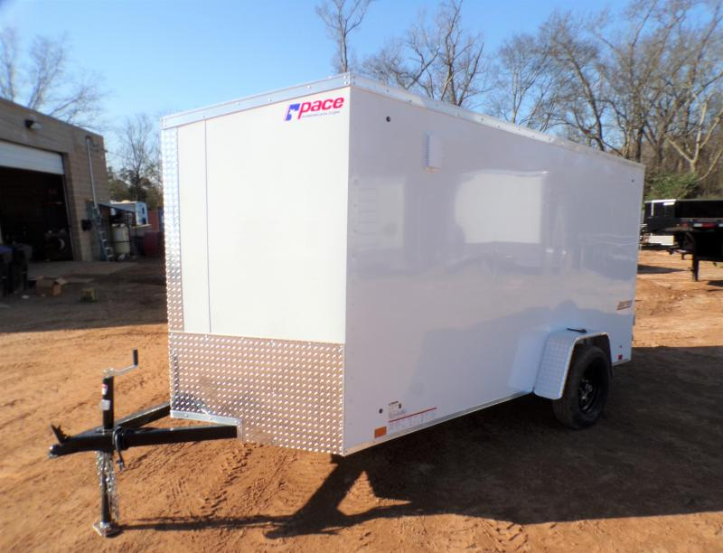 2021 Pace American 6 x 12 Journey Slanted V-Nose Cargo Trailer