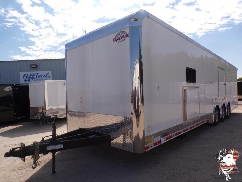 2021 Cargo Mate 8.5 x 34 Eliminator Car / Racing Trailer