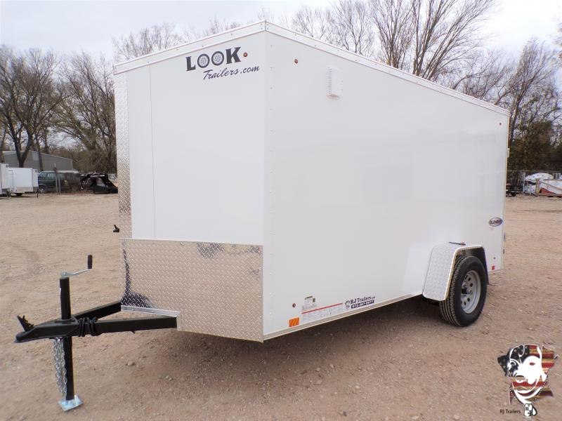 20202 Look Trailers 6 X 12 Element SE Enclosed Cargo Trailer