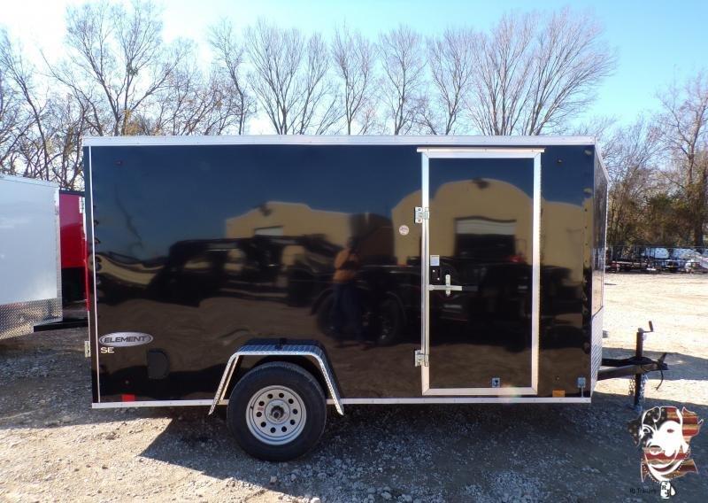 2022 Look Trailers 6 X 12 Element SE Enclosed Cargo Trailer