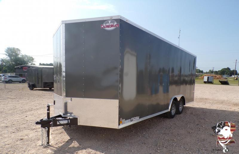 2021 Cargo Mate 8.5 x 20 E-Series TA Car / Racing Trailer