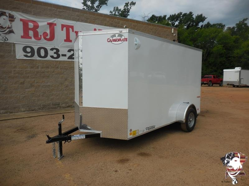 2021 Cargo Mate 6 x 12 E-Series SA Enclosed Cargo Trailer