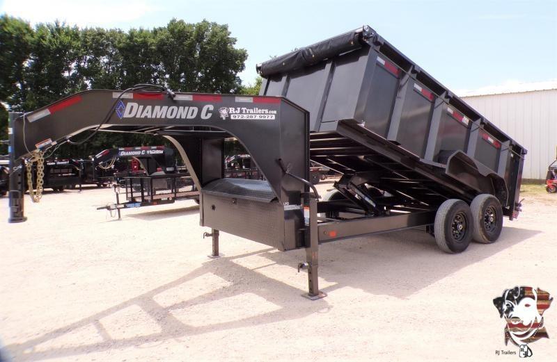 2021 Diamond C Trailers 82 x 14 LPD 207 Dump Trailer