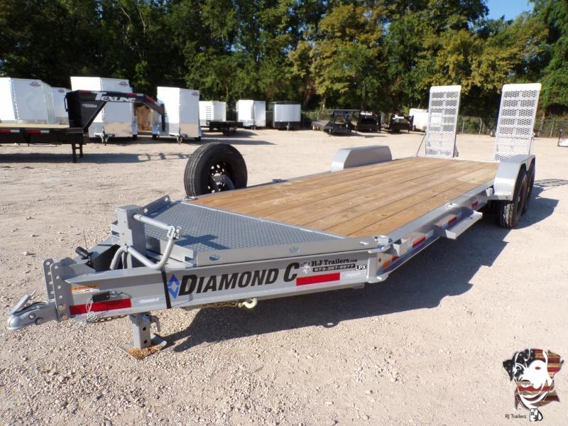 2020 Diamond C 82x22 LPX207 Equipment Trailer