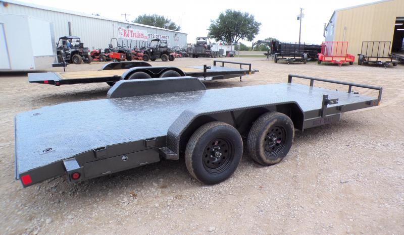 2021 Buck Dandy 83 x 18 Car Hauler Trailer