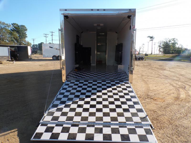 2021 Cargo Mate 8.5 x 24 Eliminator Motorcycle Trailer