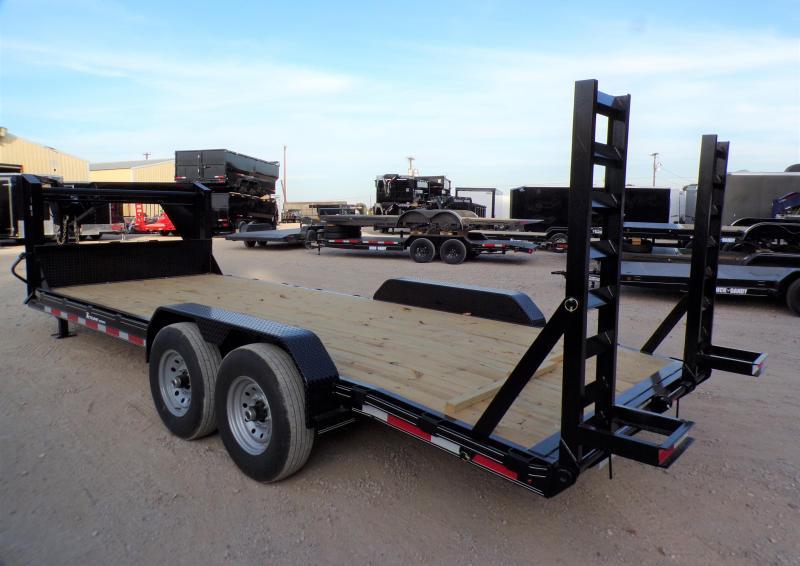 2022 TexLine 83 x 20 Equipment Trailer